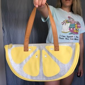 Betsey Johnson Bags - NWOT Luv Betsey Johnson Lemon Cooler Lunch Box Bag